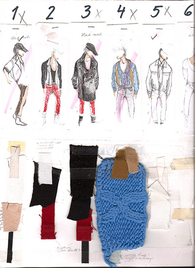 Read The Fashion Designer S Sketchbook By Hywel Davies