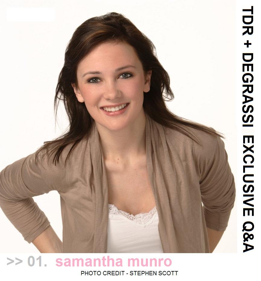Samantha munro hot