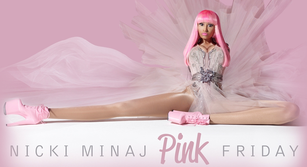 nicki minaj pink friday album cover dress. cool Nicki Minaj album art