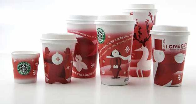 Design – Starbucks Red Cups Arrive In Stores Today | TALL DARK ROAST